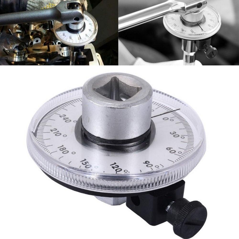 1/2 Unidade Polegada Ajustável Medidor de Ângulo de Torque Auto Garagem Conjunto de Ferramentas Para Ferramentas Manuais Chave de Reparação Automóvel Mecânico Profissional DIY