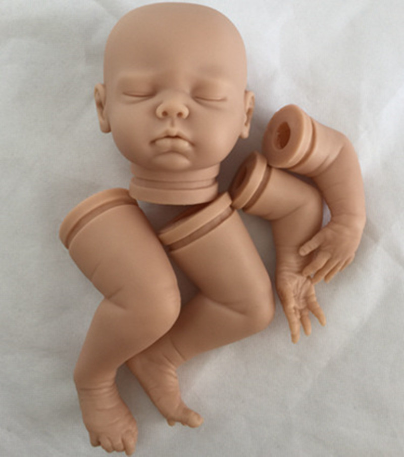 Reborn Doll Kits for 18inches Soft Vinyl Reborn Baby Dolls Accessories for DIY Realistic Toys for DIY Reborn Dolls Kits dk-81 good price reborn baby doll kits for 17 baby doll made by soft vinyl real touch 3 4 limbs unpainted blank doll diy reborn doll