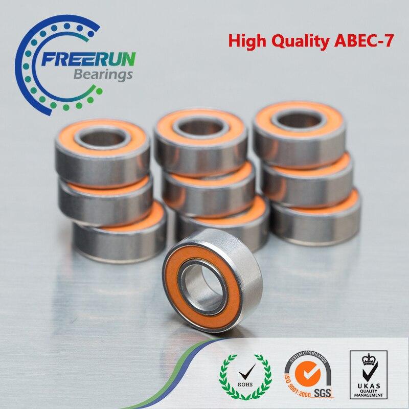 Moulinet de pêche en céramique hybride, acier inoxydable, roulements, pour DAIWA, SMR103C, 2OS, 3x10x4mm, 5x11x4mm, 1 pièce