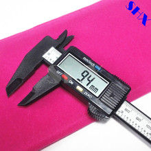 Best price 150mm 6inch LCD Digital Electronic Carbon Fiber Vernier Caliper Gauge Micrometer with Gift Pouch