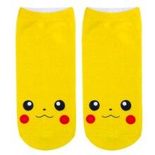 Anime Pokemon Go Pikachu Character Pocket Monsters Kids Girls Boys Socks
