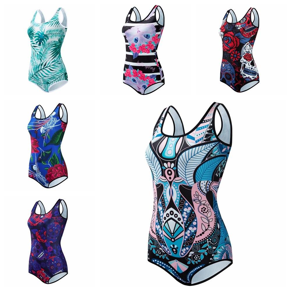 Retro Sexy Bikini One Piece korean Swimsuit Women Push Up Swimwear Female High Waist Bathing Suit maillot de bain female