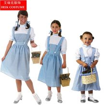 IREK hot Owl Pilgrimt Halloween Costume Adult Children party cosplay costume top quality Dorothy performance clothes