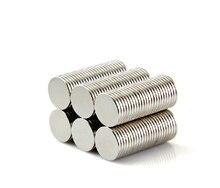 100 шт 10×1 мм Strong Круглый редкоземельных супер мощные магниты неодимовый магнит N50 10*1