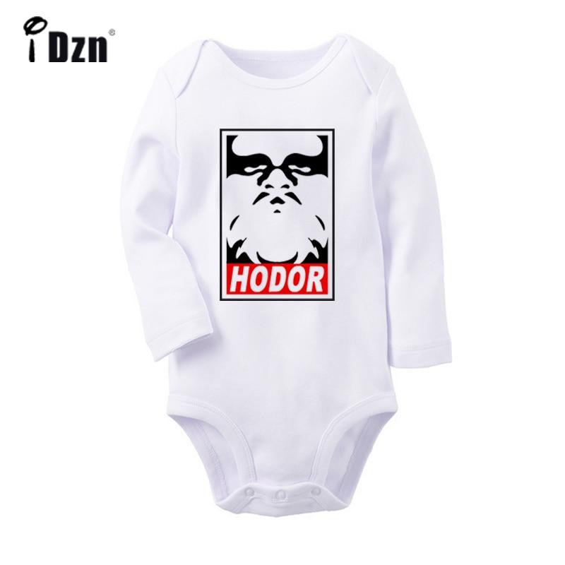Ходора», «Hold the Door», для новорожденных, для маленьких мальчиков и девочек Комбинезон для малышей с принтом, спортивный костюм, гимнастически...