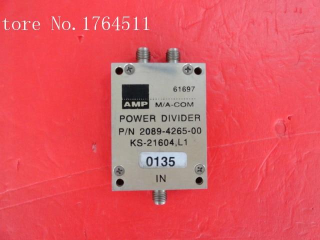 [BELLA] M/A-COM 2089-4265-00 350-1300MHz Two SMA Power Divider  --2PCS/LOT