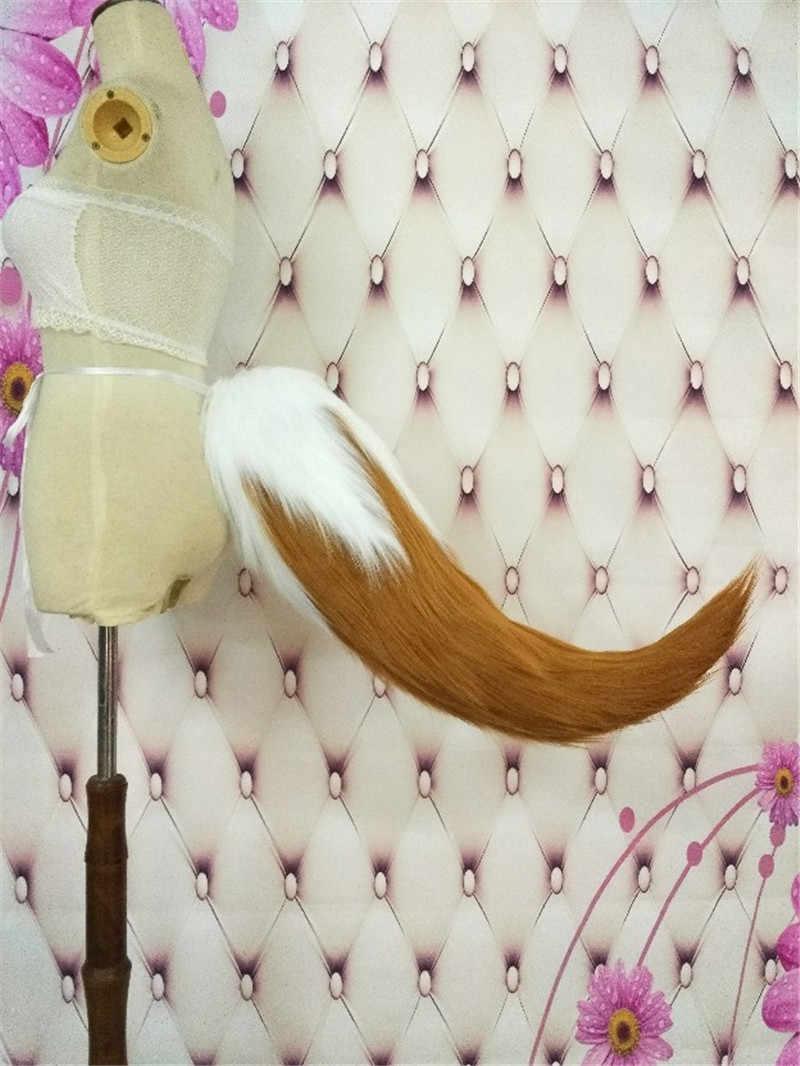 Новый FGO Tamamo no Mae лиса Плюшевые Уши хвосты Амин Япония косплэй реквизит костюм оголовье волос ClipAccessories подарки