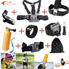 2016 New Basic Gopro Accessories Set For Gopro Hero4 Session 4 3 Plus SJ4000 Xiaomi Yi