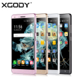 XGODY X11 5.0 inch Mobile Phone MTK6580 Quad Core 512MB RAM 8GB ROM Android 5.1 5.0MP Cell Smartphone Dual SIM GPS WiFi Unlocked