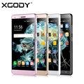 Xgody x11 5.0 pulgadas mtk6580 quad core 512 mb de ram del teléfono móvil 8 GB ROM Android 5.1 5.0MP Teléfono Inteligente Celular Dual SIM GPS WiFi desbloqueado