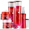 Red Pomegranate Face Care Set 5pcs Facial Toner Lotion Essence Day Night Cream Whitening Moisturizing Anti-Aging Skin Care Kits