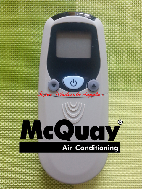 US $6 49 |Mcquay Air Conditioner Remote Control Air Conditioning Remote  Control Parts-in Remote Controls from Consumer Electronics on  Aliexpress com |