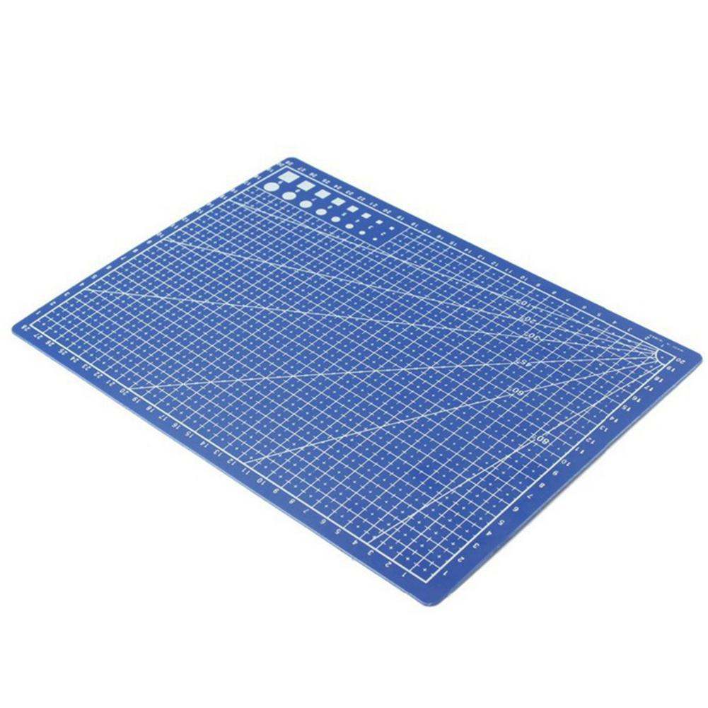 A4 PVC Cutting Mats Plate Double-sided Engraving Cutting Board Mat Handmade Hand Tools R20