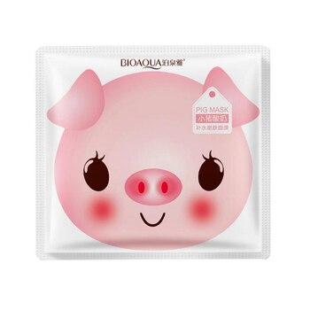 BIOAQUA Skin Care Women Pig Milk Face Masks Moisturizing Oil Control Natural Essence Collagen Whitening Mask Face Mask & Treatments