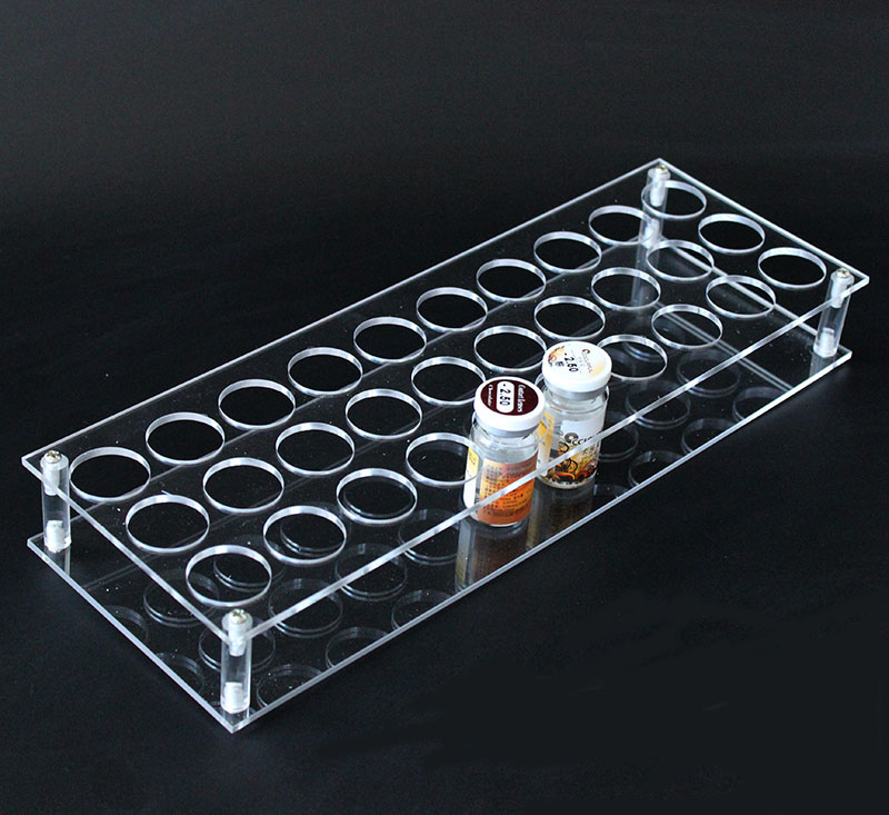 Clear Acrylic Holder For Jewellery Contact Lenses Small Bottle Display Sunglasses Shop Retail Shelf