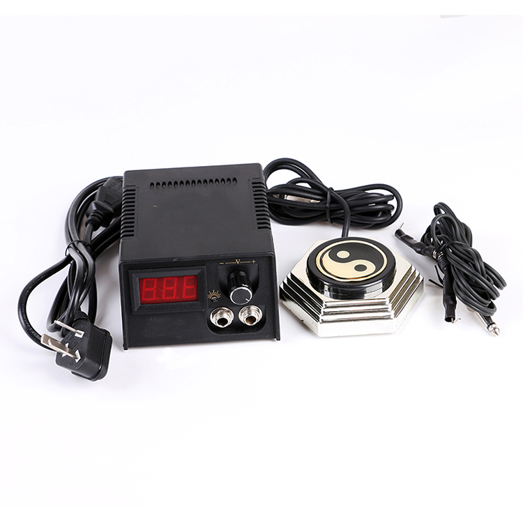 Tattoo Digital Power Supply voltage stabilizer Foot Pedal Clip Cord Tattoo Machines power cord Kit Set Tattoo Accessories microscope accessories mobile 00 foot power dimming