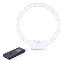 FreeShip YongNuo YN308 Selfie Ring Light 3200K~5500K Bi Color Temperature LED Video Light Wireless Remote CRI95 with Handle Grip