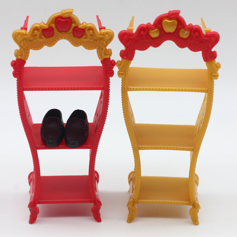 1Pcs Mix Color Shoes Rack Furniture For 1/6 Barbie Doll Storage Racks For  Monster High Dolls As For BJD Kids Toys In Dolls Accessories From Toys U0026  Hobbies ...