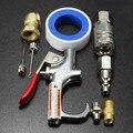Frete Grátis 9 Pcs Conjunto Bico Pistola de ar Espanador de Ar Comprimido Do Compressor De Ar Kit Ferramenta De Limpeza do Ventilador Uma Versão