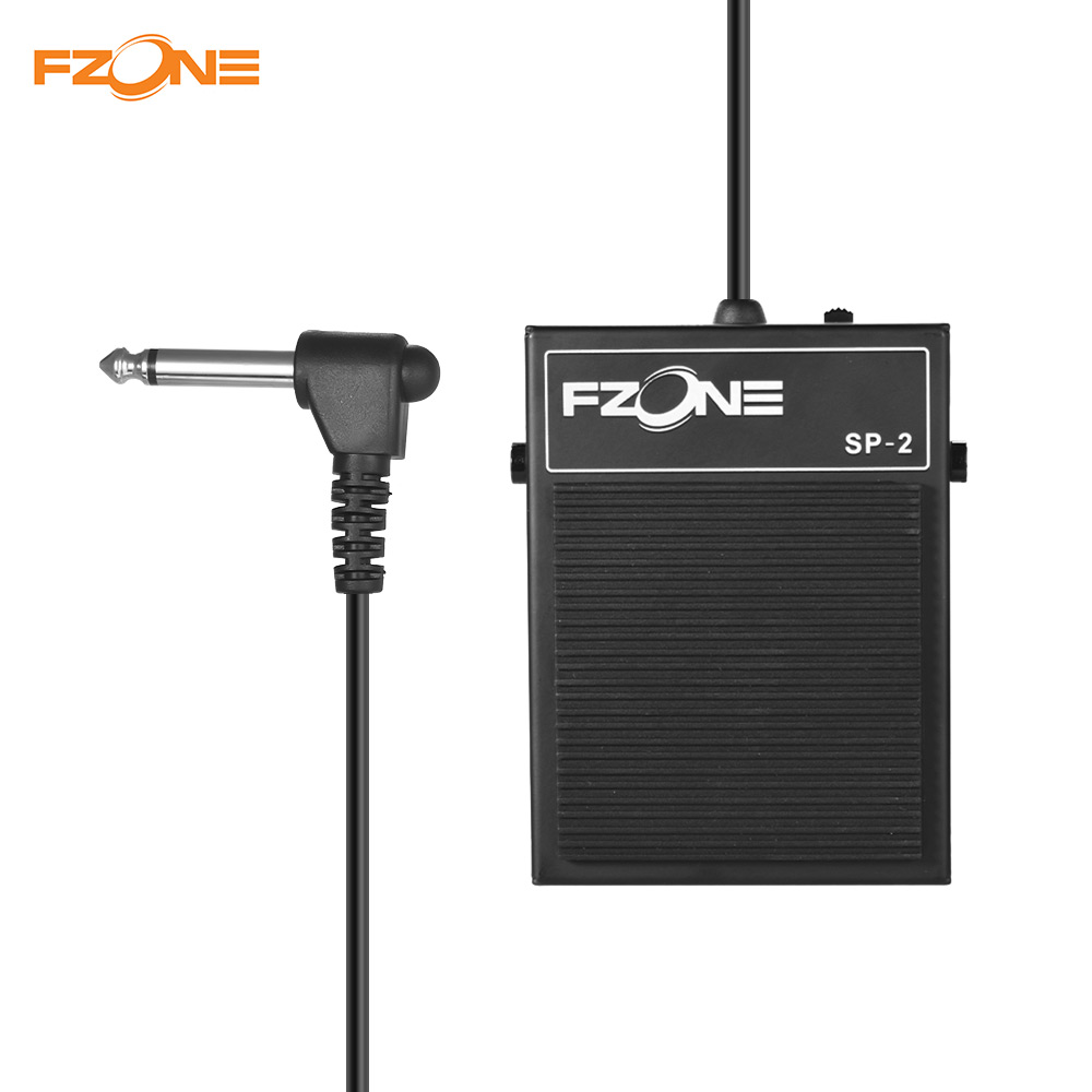 fzone sp 2 electric keyboard piano sustain pedal metal material piano keyboard sustain pedal. Black Bedroom Furniture Sets. Home Design Ideas