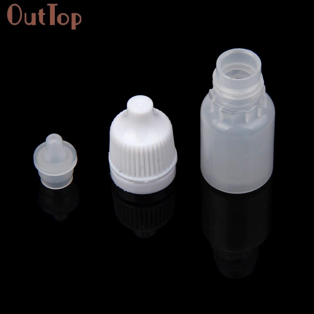 Image 5 - OutTop  100PCS 5ml/10ml/15ml Empty Plastic Squeezable Dropper Bottles Eye Liquid Dropper Refillable Bottles 2018 DEC19-in Refillable Bottles from Beauty & Health