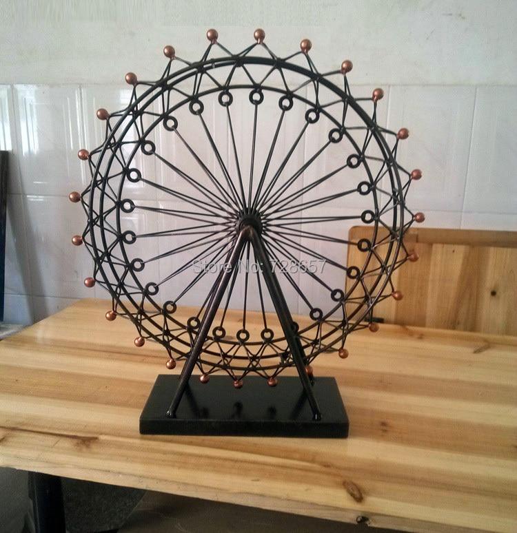 Metal Ferris Wheel Decor - Home Decorating Ideas