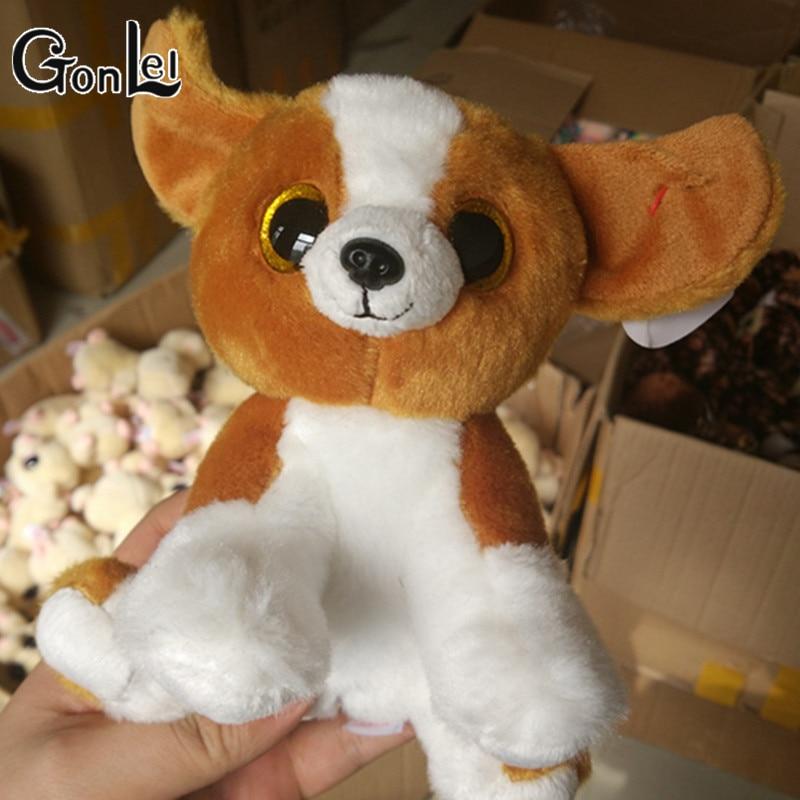 Gonlei Ty Beanie Боос коричневый на корточках собака 6 дюймов Большой Средства ухода для век шапочка Детские плюшевые игрушки куклы Мягкие плюшевы...