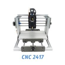 2417 diy engraving machine 3axis mini Pcb Pvc Milling metal and wood Carving grbl control