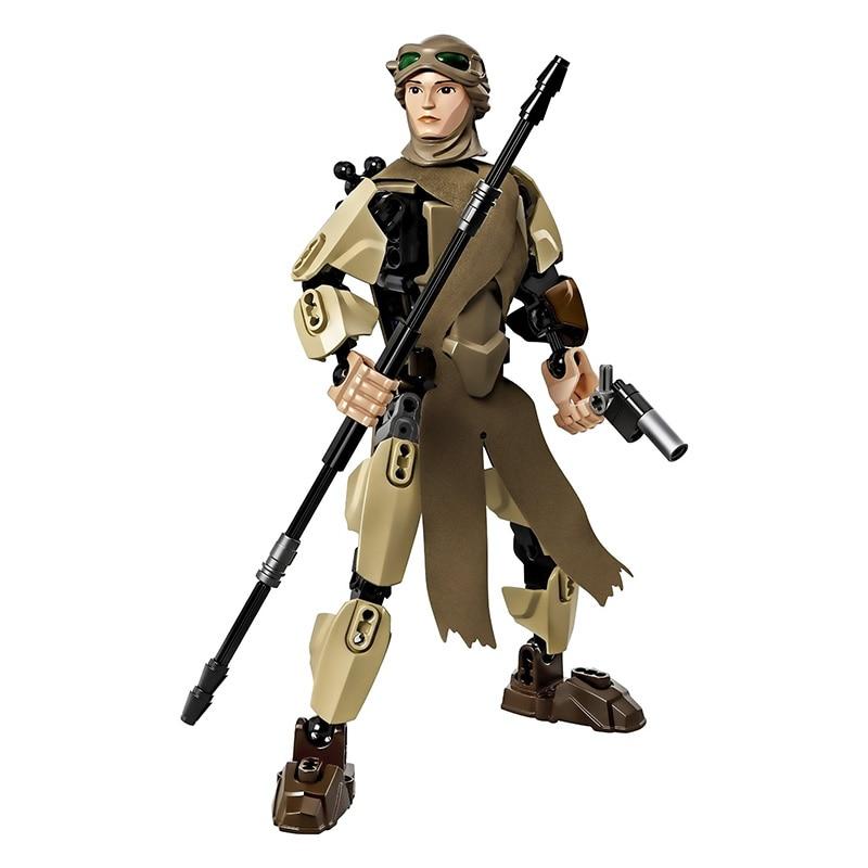 Star Wars 7 The Force Awakens Building kit Rey figures Blocks Model Children Best Gift Toys christmas Rogue One