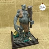 Harry Potter and the Philosopher's Stone Monster troll 6 inch doll Action Figure Model With base S155