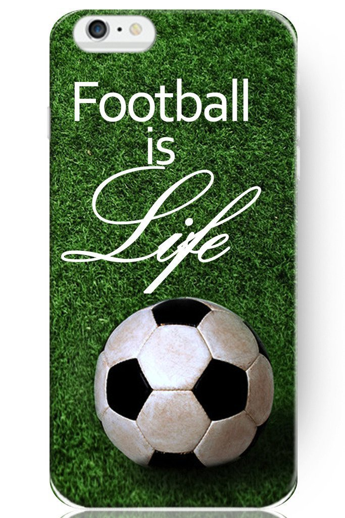 Football is Life Quotes Cover case for iphone 4 4s 5 5s 5c 6 6s plus samsung galaxy S3 S4 mini S5 S6 Note 2 3 4