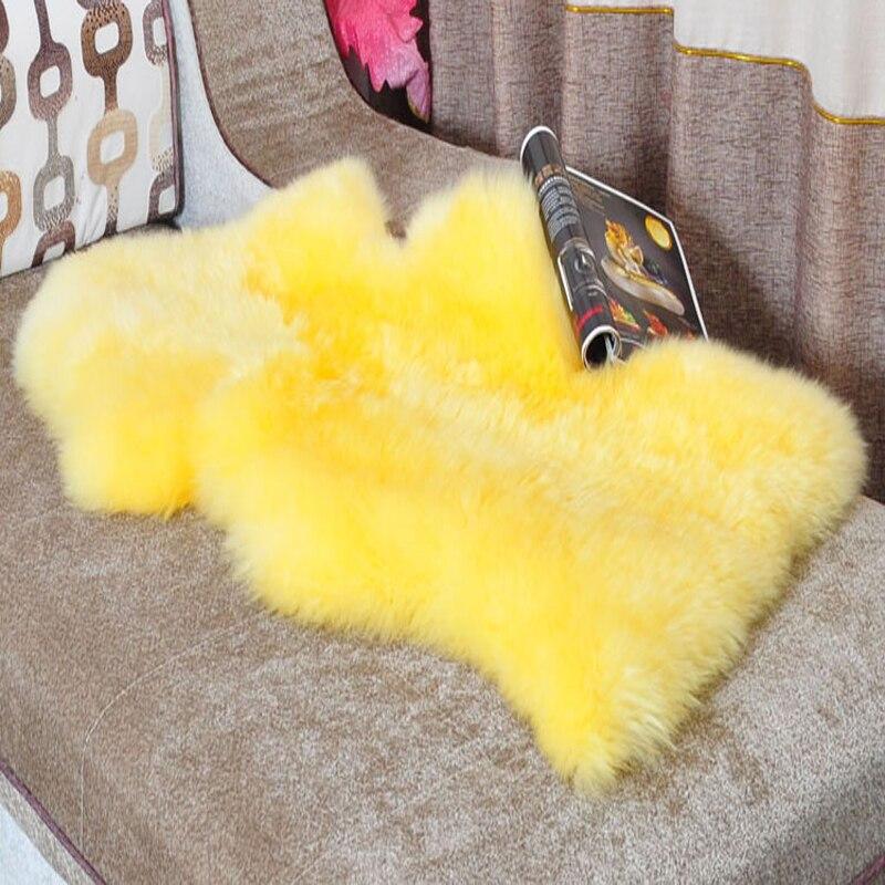 Tapis en peau de mouton véritable australie tapis en peau de mouton couverture en fourrure véritable tapis et tapis pour couvertures décoratives de salon