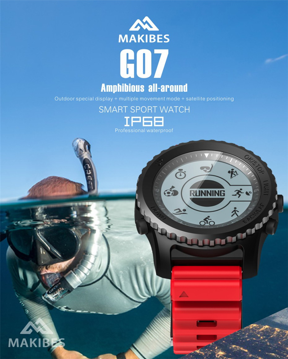 Makibes G07 GPS Sport Watch (1)
