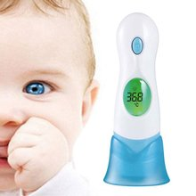 8 in 1 LCD Digital Infrared Ear Thermometer Forehead For Baby Pet Toy Child Family Newest Hot Health Care 1Pc