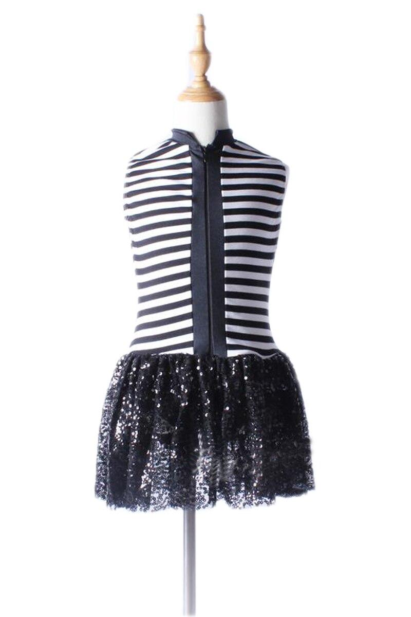 Hot Sale Professional Black Costumes For Girls Gymnastics -4414