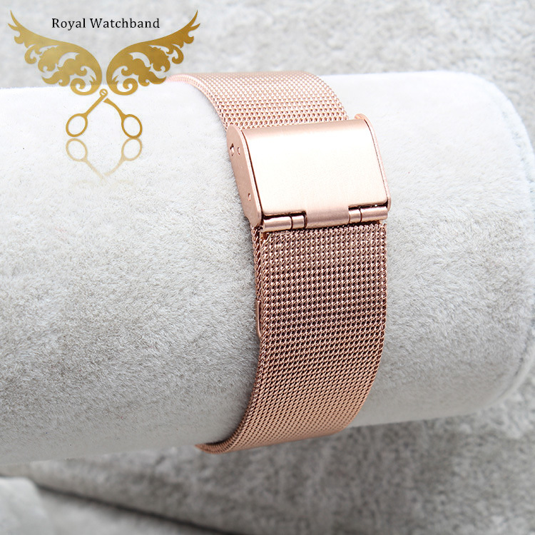 Mesh Stainless Steel Watch Band Mens Strap Metal Bracelet 12mm 14mm 16mm 18mm 20mm 22mm 24mm mens stainless steel watchbands zlimsn silver mesh watchbands stainless steel watch strap men women ultrathin watch band bracelet relojes hombre 14 16 18 20mm