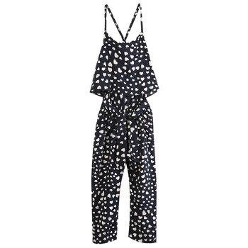 Girls Princess One-piece Overalls Playsuit Jumpsuit T-shirt Pants Outfit Clothes conjuntos casuales para niñas