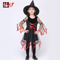 Children In Costumes Cosplay Children Suit Female Witch Costumes Clothing For Children