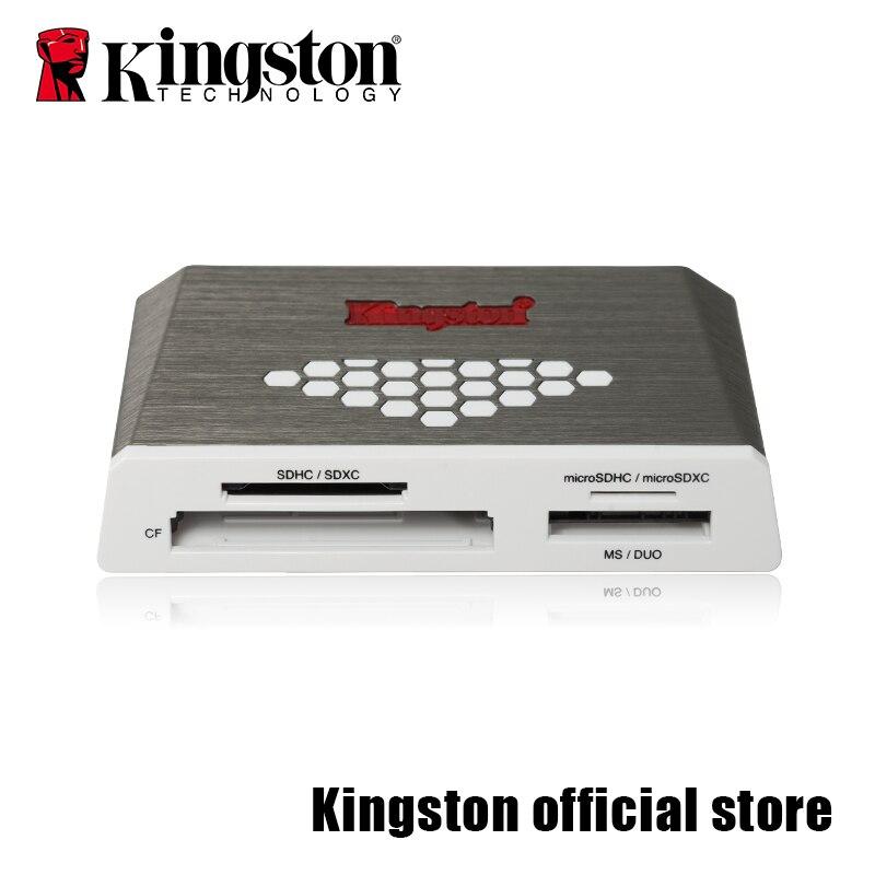 Kingston Micro SD Card Reader USB3.0 Media Reader CF TF MS SDHC/SDXC UHS-I Microsd Multi-function Flash Memory Card USB Adapte