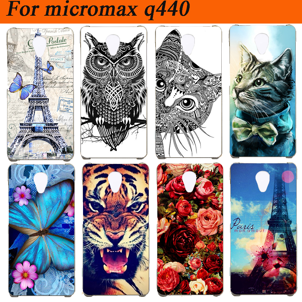 Case-Cover Micromax-Bolt Q440 Silicon 4-Cases fundas for Diy Colored Soft Tpu Capa Bharat