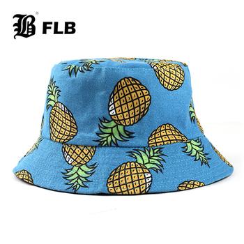 [FLB] lato składany ananas kapelusz typu Bucket kobiety odkryty bawełna wędkarstwo polowanie Cap mężczyźni umywalka Chapeau słońce zapobiec kapelusze F375 tanie i dobre opinie COTTON Dla dorosłych Unisex Mieszkanie Geometryczne F375 Bucket Hats Wiadro kapelusze Na co dzień 58 cm 3 colors Zhejiang China (Mainland)