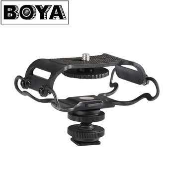 Boya BY-C10 microfone choque montagem para zoom h4n/h5/h6 para sony tascam dr-40 dr-05 gravadores microfone shockmount olympus tascam