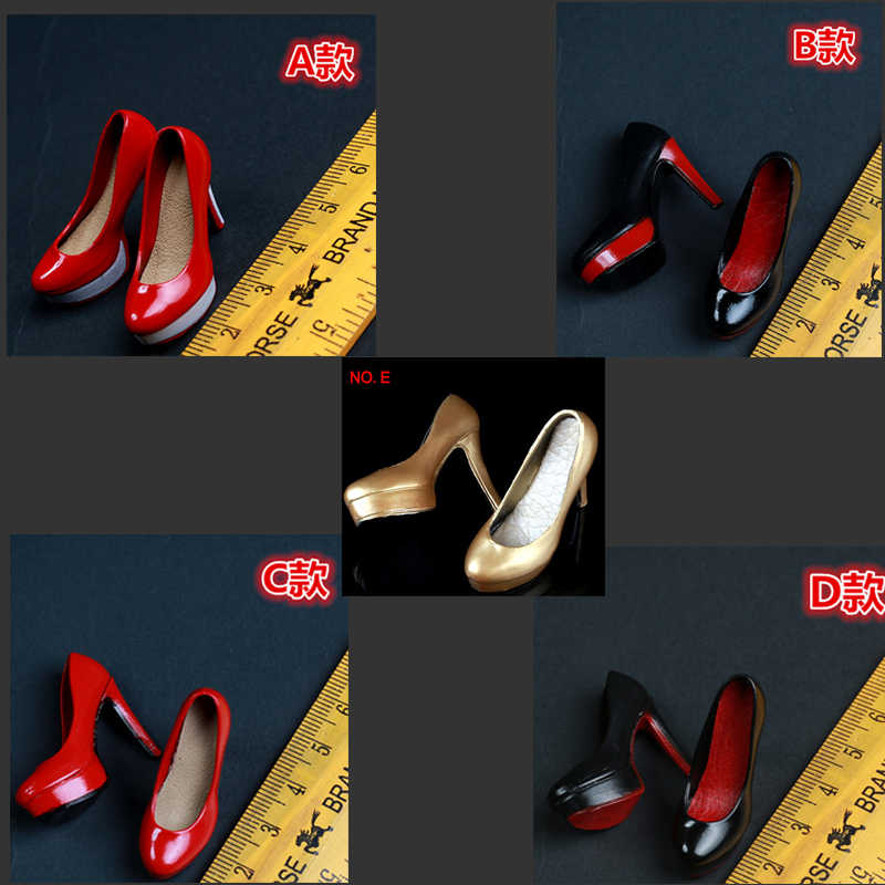 High Heel Shoes Miniature Figures Footwear Footwear Fashion Doll Accessories
