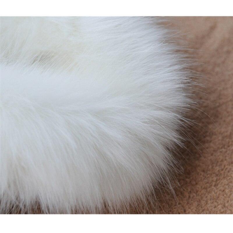 Épaissir Chaud De Manteaux Okxgnz Nouveau La white Courte Plus Black Fausse D'hiver Courts Veste Wome Manteau Taille Vison En Col Parkas Fourrure Renard nZrzOqwZ0