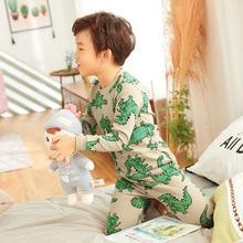 Boys Pajamas Sets Keep Warm Children Sleepwear Baby Boys Cot