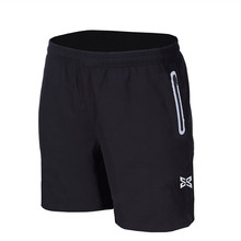 Men Soccer Shorts Gym Fitness Running Shorts Sports Board Basketball Cycling Woven Joggers zipper Reflective pocket Quick dry(China)
