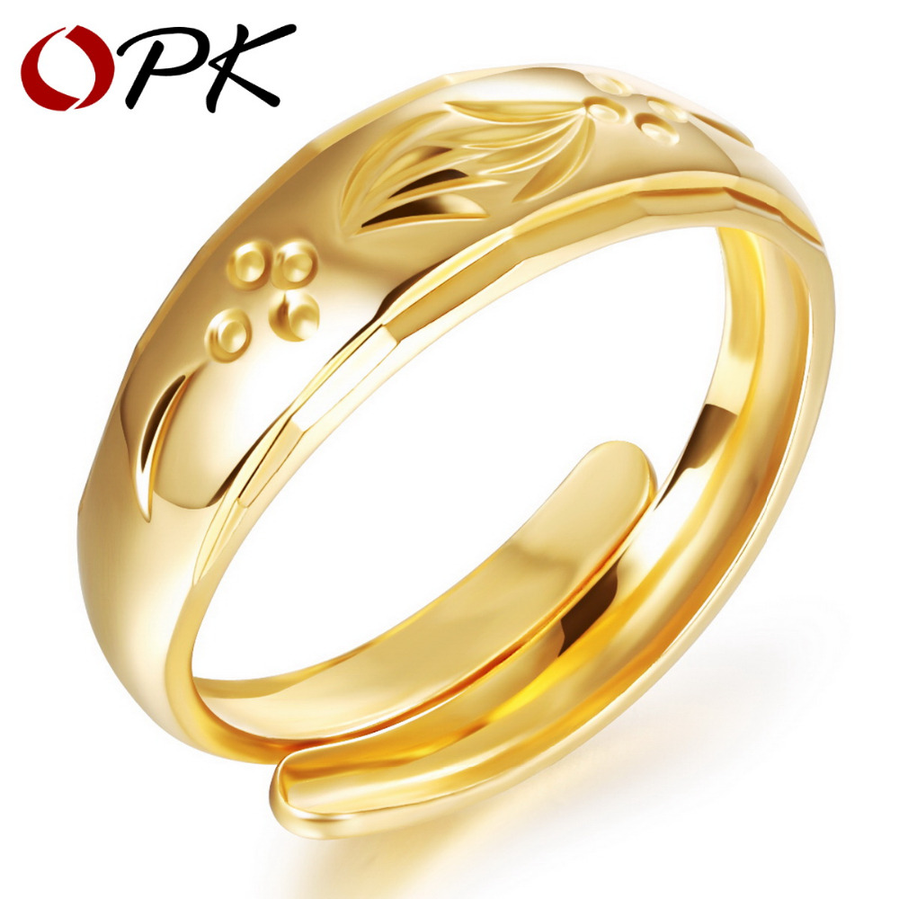 OPK Luxury Wedding Ring Color Cheap Ring Adjustable Size ...