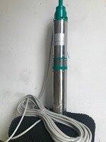 DC 24 volt 600W solar irrigation pumps Plastic Impeller mini 3 inch solar motor pump for agriculture