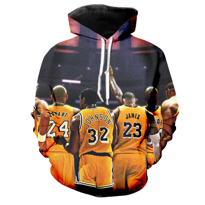 1285017387f 2019 hot fashion Hoodie 3D print men women Streetwear BallStar personality  cool patchwork basketball sweatshirt