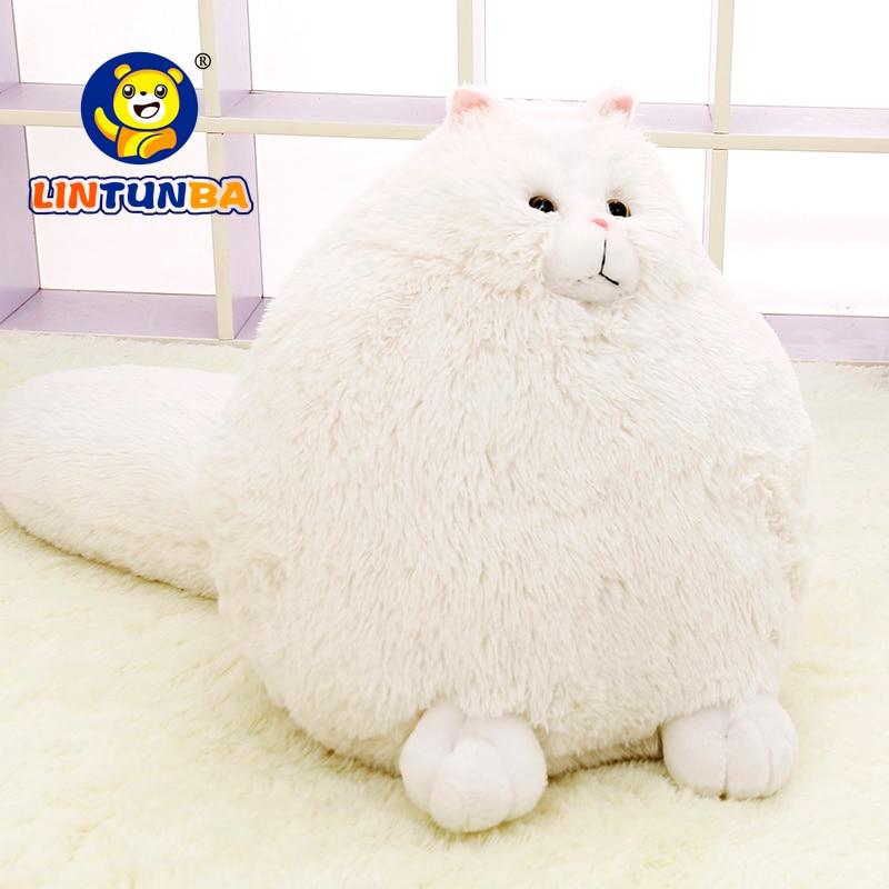 Забавные Плюшевые Пушистые кошки персидские кошки игрушки Пемброк Подушка Мягкие животные пелюши куклы детские игрушки подарки Brinquedos|toys gift|animal peluchestuffed animal | АлиЭкспресс